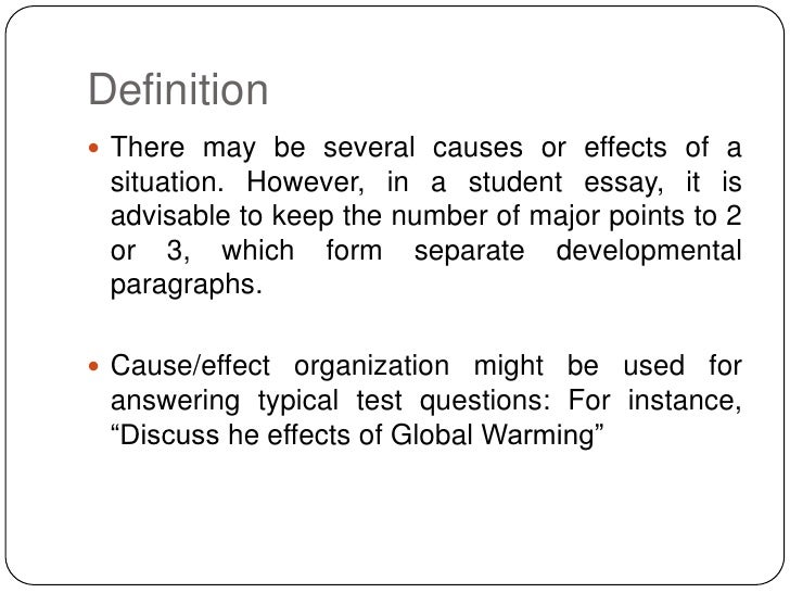 causes of wwi essays