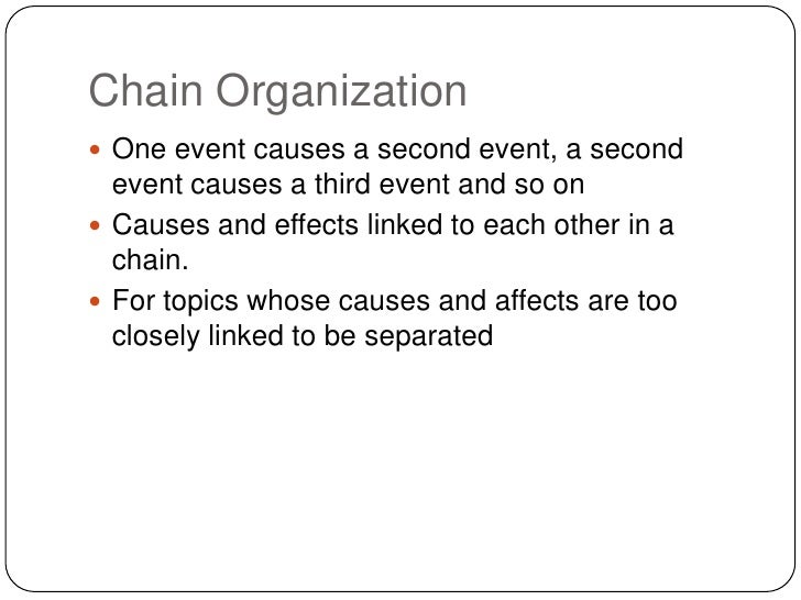 Cause Effect Essay Chain Organizations - image 11
