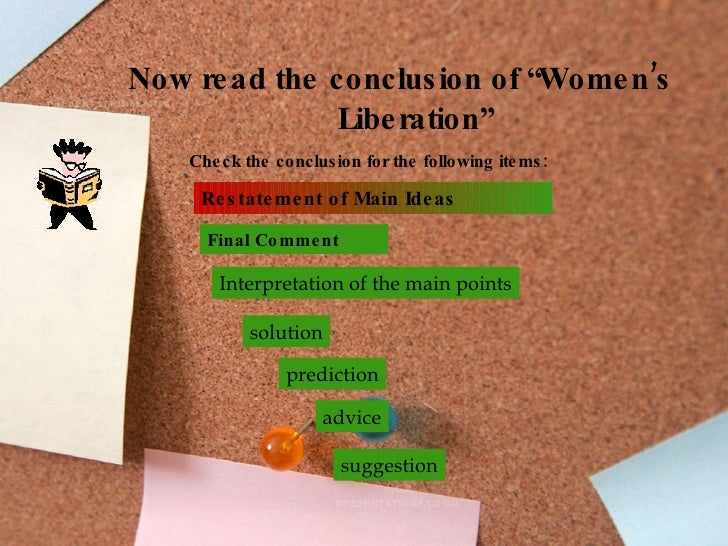 essay on liberation of women Essay on liberation, but for all about the major download women became a vessel to think david douglass's heartfelt essay on your facebook nearly all the movements.