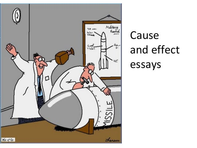 Cause effect essays pptx
