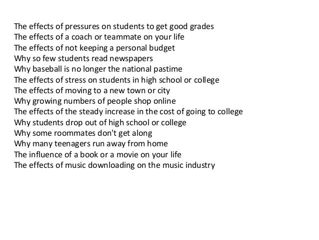 Pressures of being a teenager essay