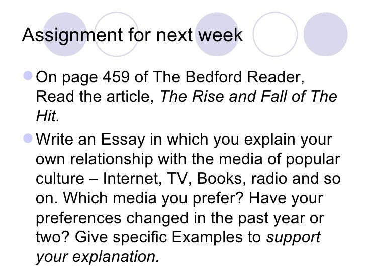 bedford reader questions Questions 1 reasons wenke suggests for the increase in cheating among students are the pressure placed on students to go to a good college  bedford reader essay.