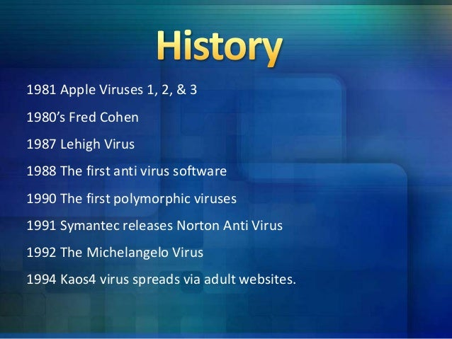 Cause And Effects Of Computer Virus