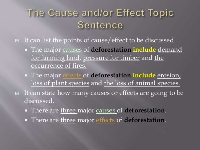list of effects of deforestation