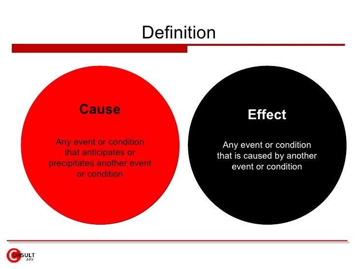 cause an effect