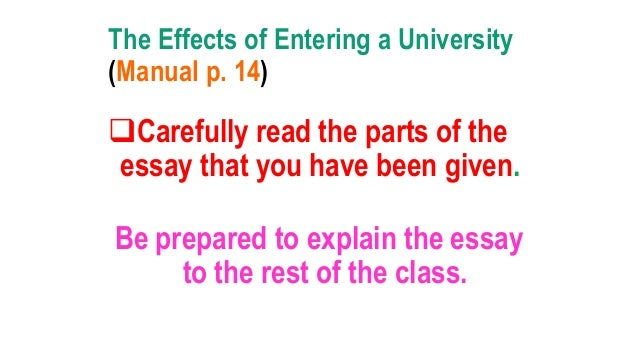 cause and effect essay on online classes