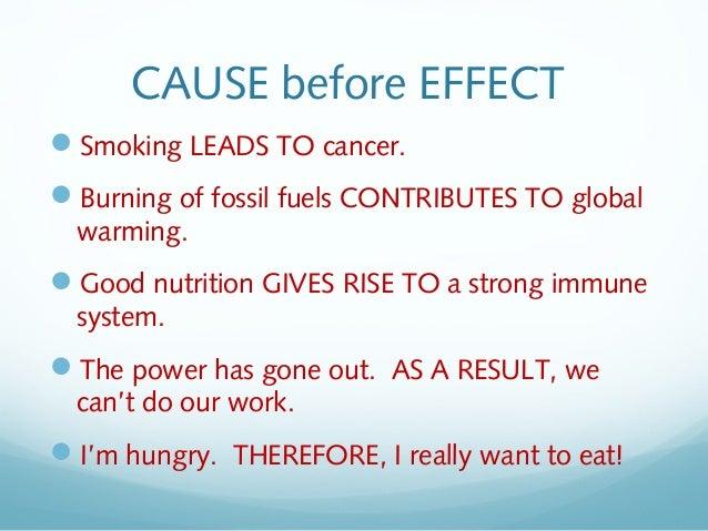 Smoking effects essay