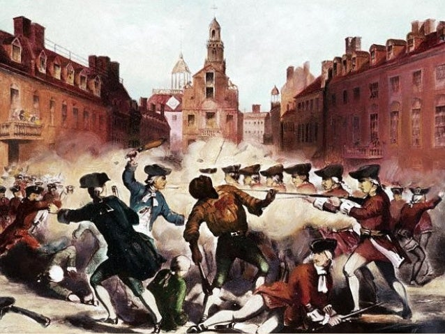 Stirrings of Rebellion British Action  Colonial Reaction  1765 Stamp Act  1767 Townshend Acts  1770 Boston Massacre  1773 ...