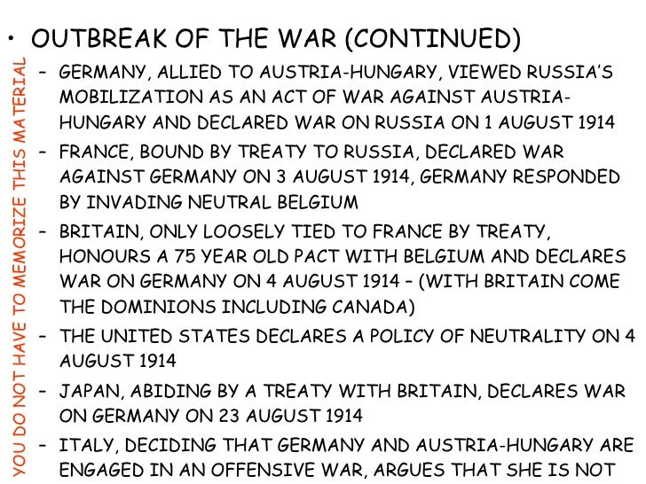 causes world war 1 7 World war 2 changed the course of history for the world one of the most gruesome wars of all time, world war 2 is best known for the bombing of hiroshima and nagasaki by the united states and the holocaust - the genocide of.