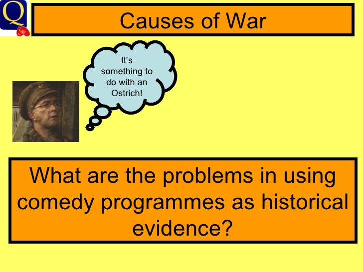 wwi causes and outcomes Full lesson on causes of wwi (schlieffen plan) with objective / outcomes, information slides, video links, activities (including gcse style q) and printable slides.