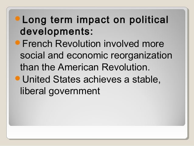 political economic and social causes of the american revolution