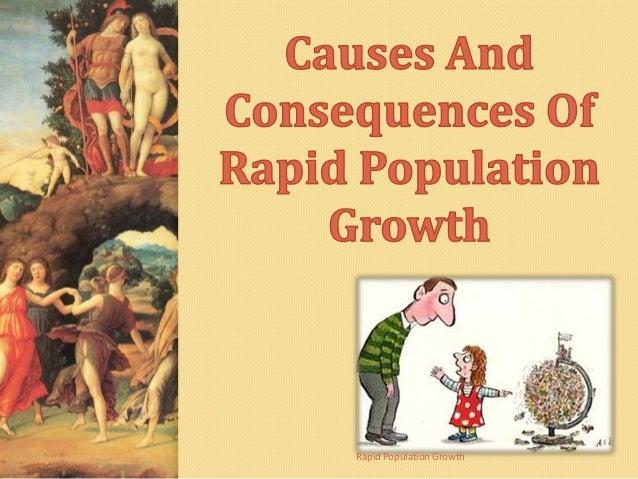 Rapid population growth essays
