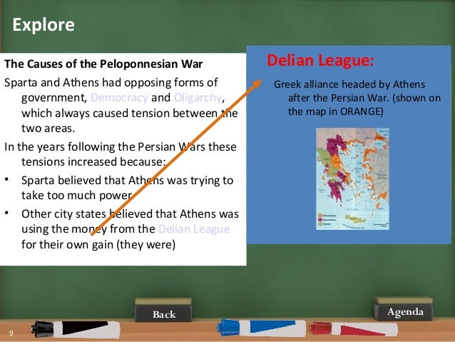 causes of the peloponnesian war essays Free essay: the peloponnesian war (431–404 bc) was an ancient greek war   caused by the growing tension between athens and sparta, it came and left,.