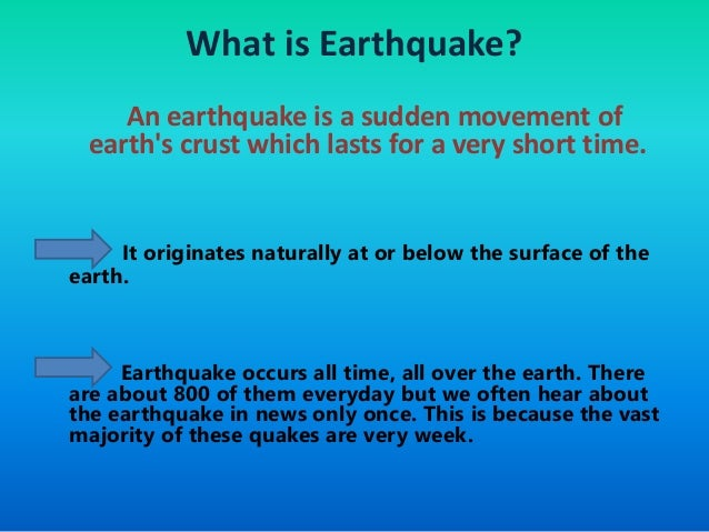 earthquakes history causes and effects Earthquake hazards the type of hazard depends on the strength of seismic activity, along with such factors as local topographic and built features, subsurface geology and groundwater a large earthquake will always be followed by a sequence of aftershocks.