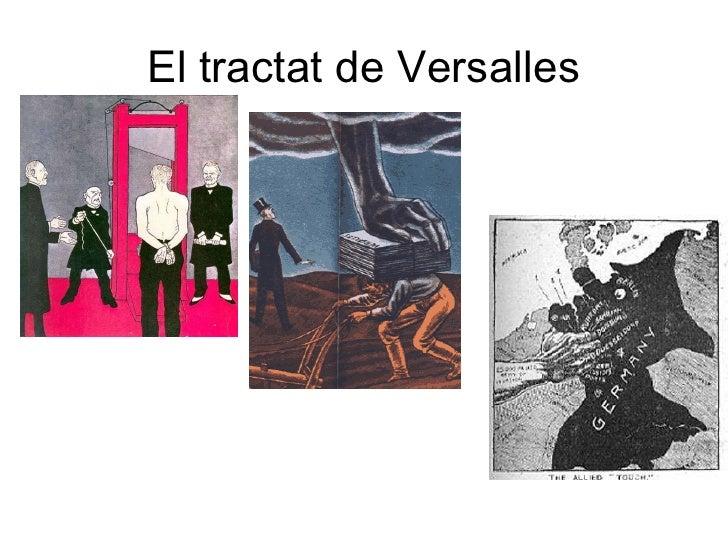 El tractat de Versalles