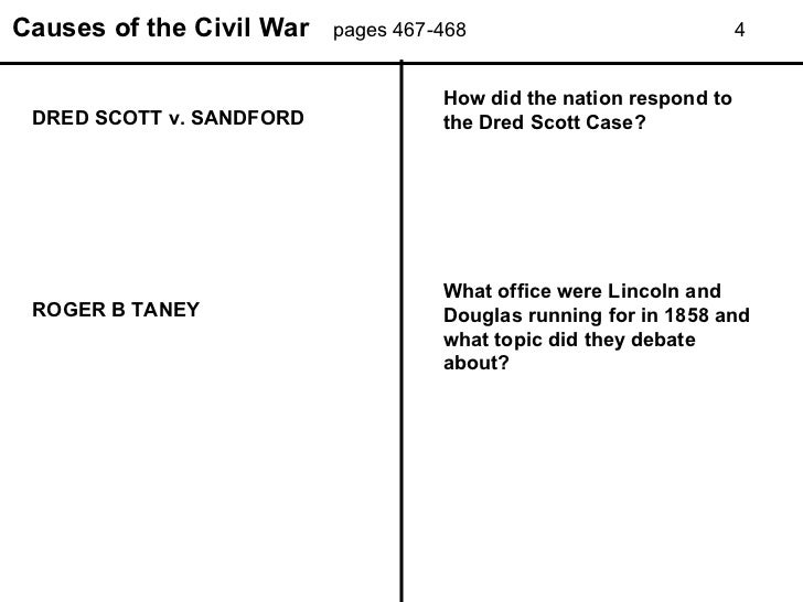 Printables Causes Of The Civil War Worksheet causes of the civil war power point worksheet causes