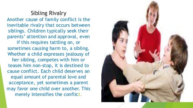 Causes of family conflict ibjong jer
