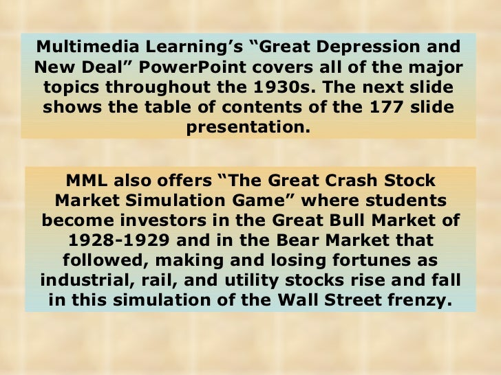 an overview of the great depression 01 orl ook nc hicago llinois sa l ight eserved orl oo n h lob evic r rademark egistere rademark orl ook nc hi ebques a b eproduce ithou orl ook' ermissio rovide.