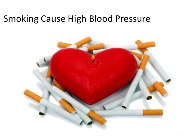 why does smoking cause high blood pressure