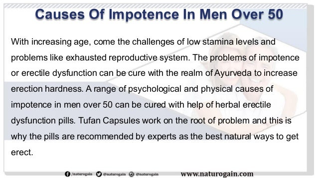 causes of erectile dysfunction over 50