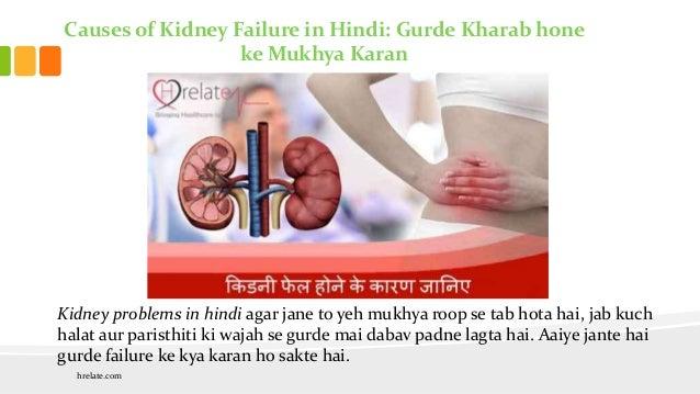 Causes Of Kidney Failure In Hindi Gurde Kharab Hone Ke Pramukh Karan