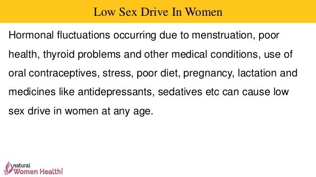 Cause of low sex drive in females