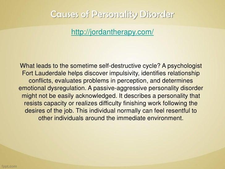 What causes passive aggressive behaviour