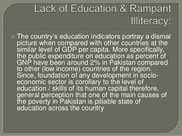 causes of poverty in pakistan pdf