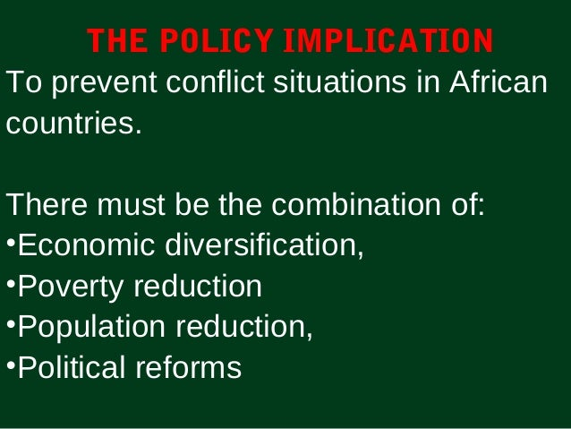 what are the causes of conflict in africa