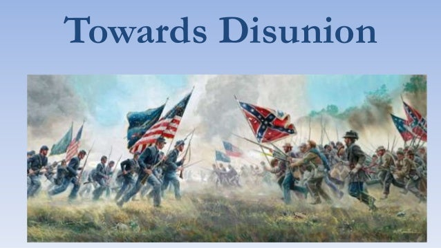 Towards Disunion