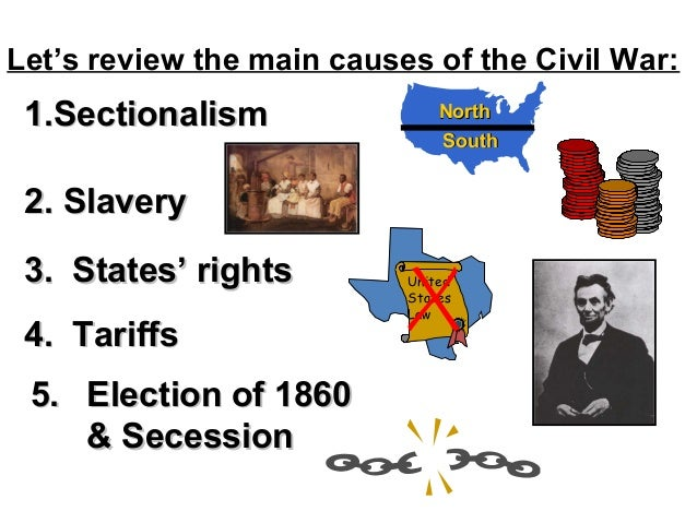 Causes of the civil war ppt