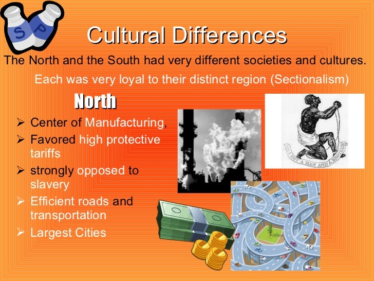 social differences between north and south