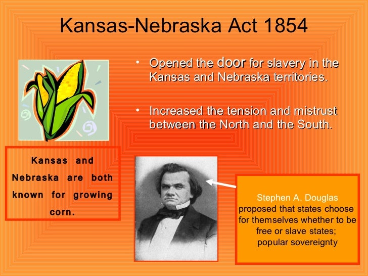 an introduction to the kansas nebraska act Editorial introduction by  and the kansas-nebraska act was the outgrowth of long  hodder's stephen a douglas 235 the kansas-nebraska act was a turning.