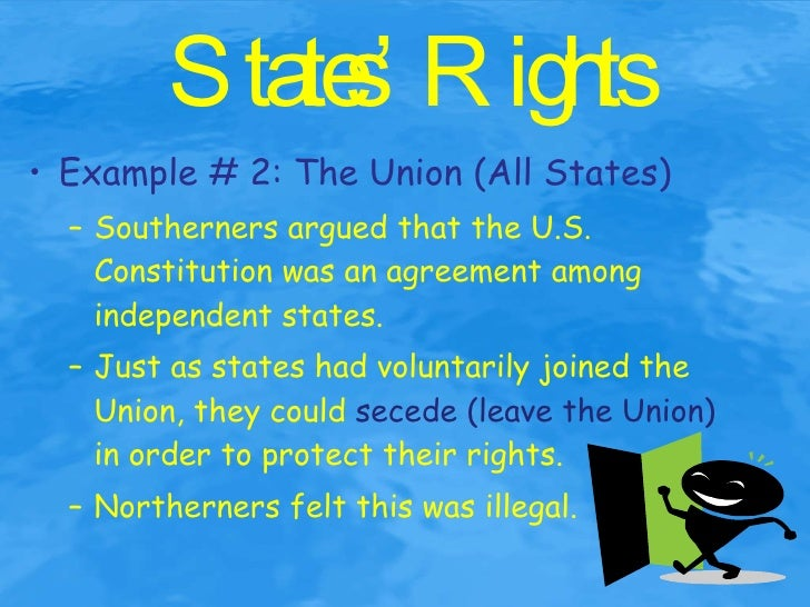 sectionalism a cause of the civil war The appeal to states' rights is of the most potent symbols of the american civil war, but confusion abounds as to the historical and present meaning of this federalist principle the concept of states' rights had been an old idea by 1860.