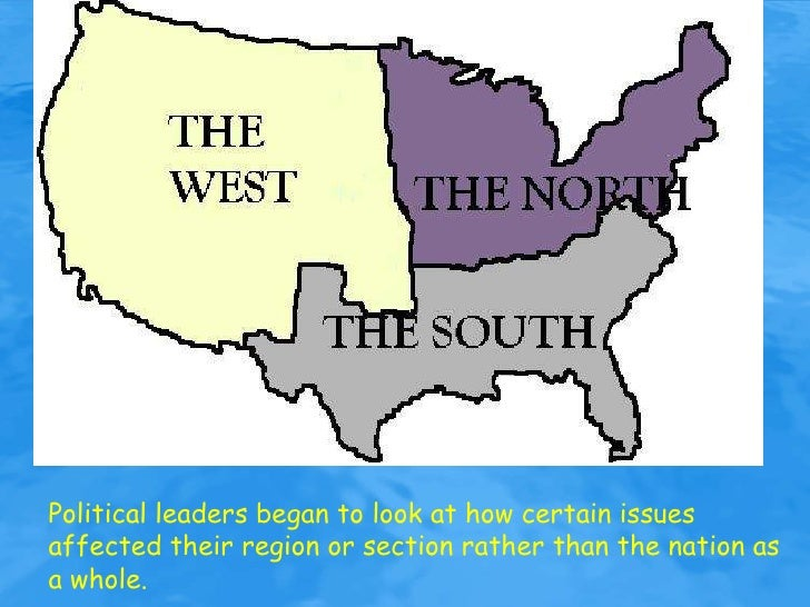 sectionalism in the united states essay