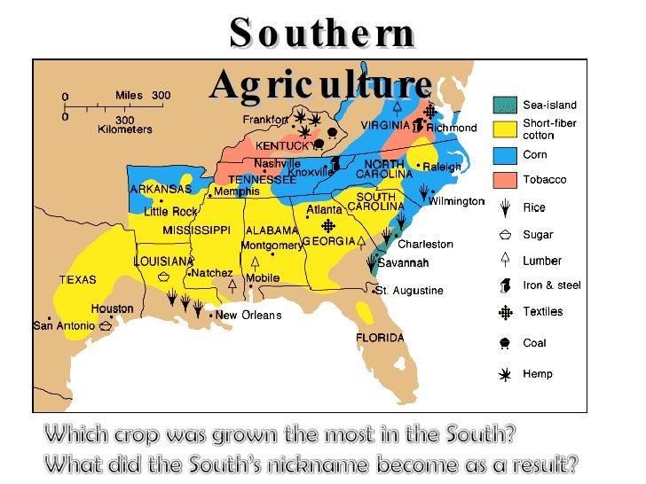Agriculture Civil War