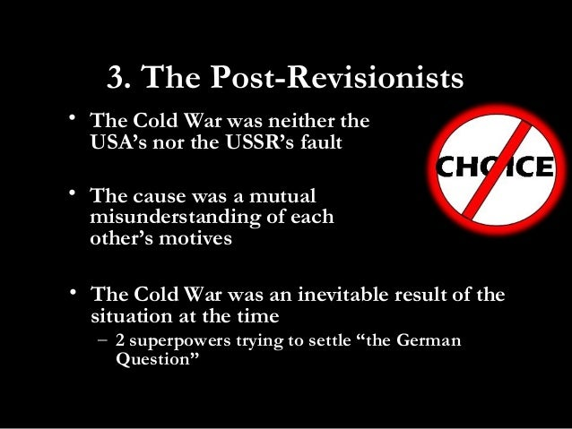 reasons that brought the cold war What is the most important social/political/economic and cultural reasons that triggered the cold war.