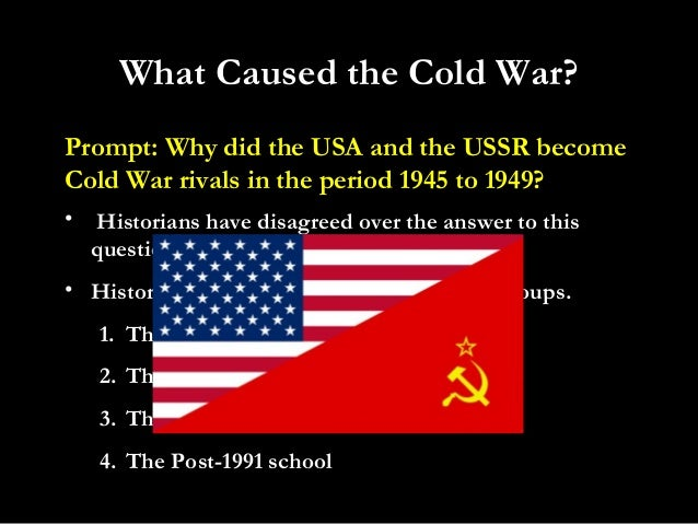 who was to blame for the cold war usa or ussr essay Who was more to blame for the cold war, the usa or the ussr this cold war has affected the world from 1945 until now the blame lies on one of these two countries.