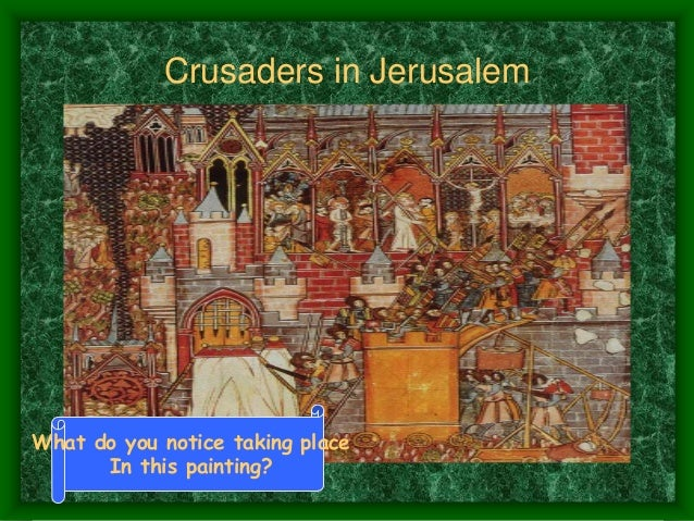 the motives and goals of european christians for participating in the crusades War between european christians and muslims (seljuk turks) over control of holy land  goal of crusades  who didn't participate in the crusades became more.