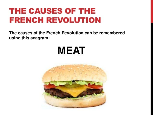 causes of french revo Kids learn about the major cause leading up to the french revolution including  debt, taxes, famine, bread prices, changes in culture, politics, and interesting.
