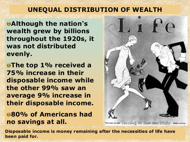 an argument on the unequal distribution of wealth in america And let's say the dollar bills below represent all the income in america:  but  perhaps the best argument against income inequality, though,.