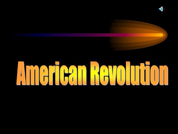 American Revolution<br />