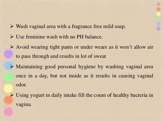 Vaginal odor causes