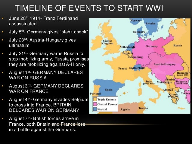 the major causes of world war i In my opinion, the two major causes would be alliance and nationalism more about the main causes of world war 1 essay the causes of world war.
