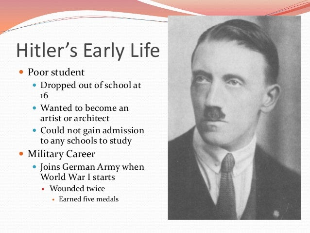 the beginning and changes in the life of adolf hitler Hitler used the time to dictate the first volume of mein hitler, adolf: rise to power overview of adolf hitler's rise to rise to power hitler's life and.
