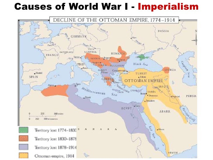 causes of ww1 essay imperialism Lesson objective: students will analyze the causes of world war i  primary  sources: political cartoons showing european imperialism, charts indicating.