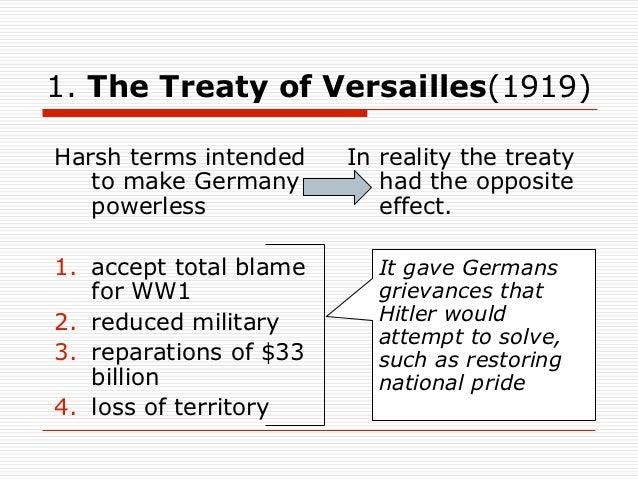 causes of world war 2 essay