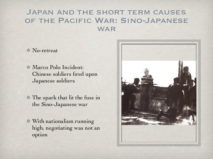 3 causes of wwii The causes of world war two can be divided into long term causes and short term causes there can be little doubt that one of the long term causes of the war was the.