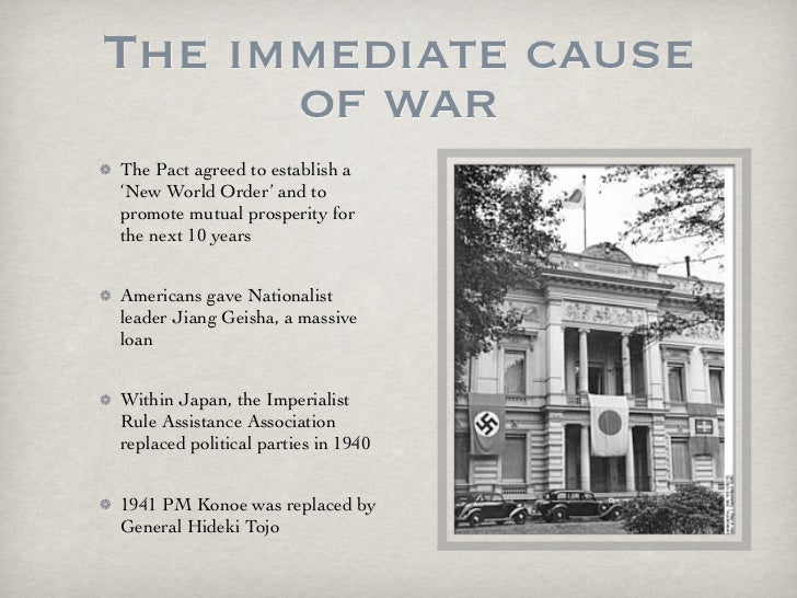 causes of wwii A recap of some of the major causes of ww2, students need to use thier chronological skills to place events into long term and short term causes.