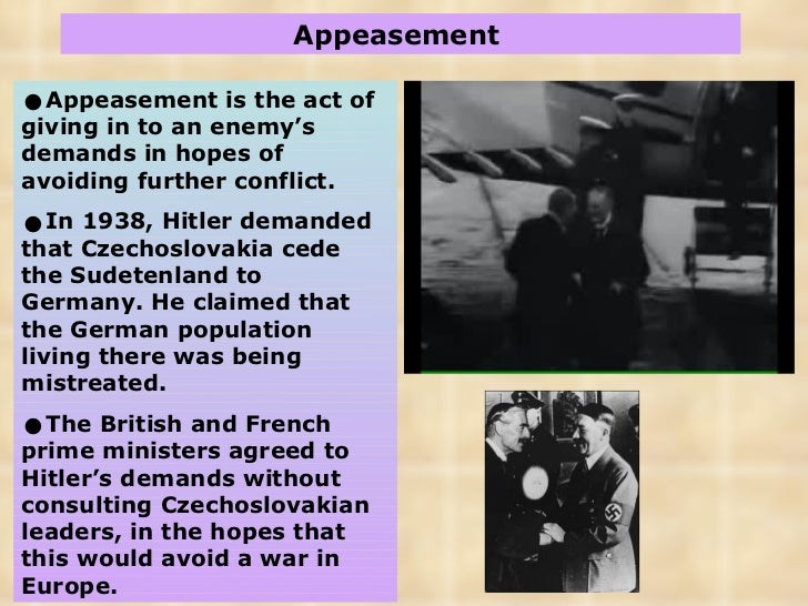 Causes WWII
